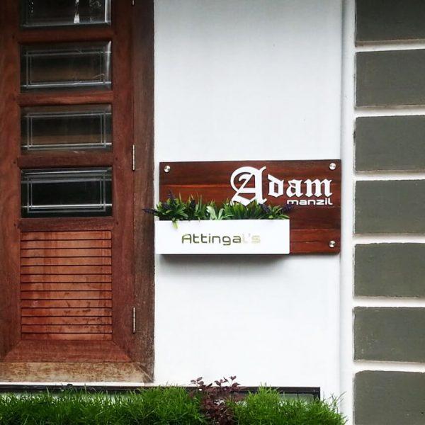 PICK HOUSE NAME BOARD